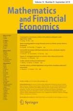 Mathematics and Financial Economics 4/2019