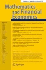 Mathematics and Financial Economics 2/2020