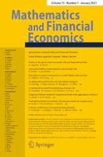 Mathematics and Financial Economics 1/2021