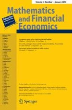 Mathematics and Financial Economics 1/2014