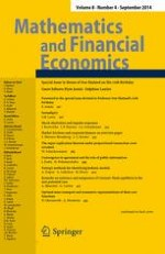 Mathematics and Financial Economics 4/2014