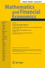 Mathematics and Financial Economics 1/2015