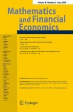 Mathematics and Financial Economics 3/2015