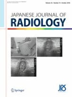 Japanese Journal of Radiology 10/2018
