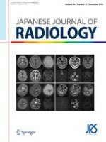 Japanese Journal of Radiology 12/2018