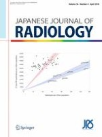 Japanese Journal of Radiology 4/2018
