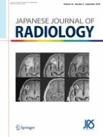Japanese Journal of Radiology 9/2018