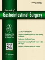 Journal of Gastrointestinal Surgery 11/2016