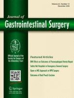 Journal of Gastrointestinal Surgery 12/2018