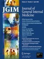 Journal of General Internal Medicine 4/2008