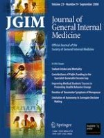 Journal of General Internal Medicine 9/2008