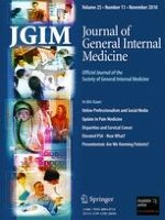 Journal of General Internal Medicine 11/2010