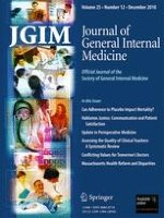 Journal of General Internal Medicine 12/2010