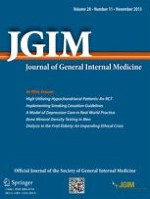Journal of General Internal Medicine 11/2013