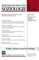 Berliner Journal für Soziologie 3/2010