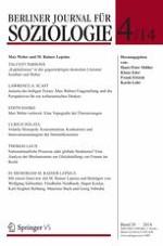 Berliner Journal für Soziologie 4/2015