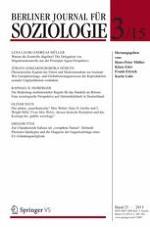 Berliner Journal für Soziologie 3/2015