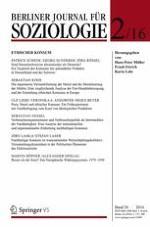 Berliner Journal für Soziologie 2/2016
