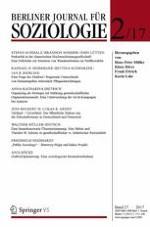 Berliner Journal für Soziologie 2/2017