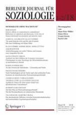 Berliner Journal für Soziologie 1-2/2018