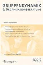 Gruppe. Interaktion. Organisation. Zeitschrift für Angewandte Organisationspsychologie (GIO) 2/2012