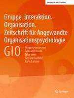 Gruppe. Interaktion. Organisation. Zeitschrift für Angewandte Organisationspsychologie (GIO) 2/2018