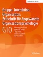 Gruppe. Interaktion. Organisation. Zeitschrift für Angewandte Organisationspsychologie (GIO) 1/2019