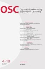 Organisationsberatung, Supervision, Coaching 4/2010