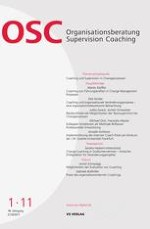 Organisationsberatung, Supervision, Coaching 1/2011