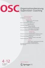 Organisationsberatung, Supervision, Coaching 4/2012
