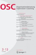 Organisationsberatung, Supervision, Coaching 3/2013
