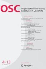 Organisationsberatung, Supervision, Coaching 4/2013