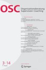 Organisationsberatung, Supervision, Coaching 3/2014