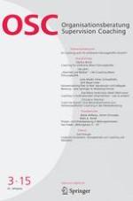 Organisationsberatung, Supervision, Coaching 3/2015