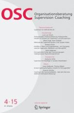 Organisationsberatung, Supervision, Coaching 4/2015