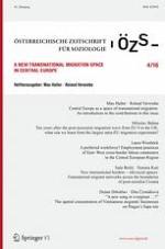 Österreichische Zeitschrift für Soziologie 4/2016