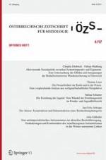 Österreichische Zeitschrift für Soziologie 4/2017