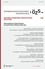 Österreichische Zeitschrift für Soziologie 1/2018