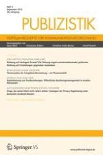Publizistik 1/2007