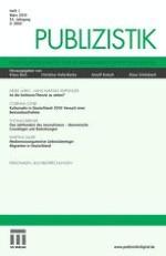 Publizistik 1/2010