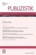 Publizistik 3/2011