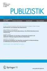 Publizistik 4/2012