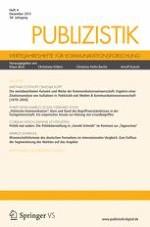 Publizistik 4/2013