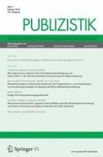Publizistik 1/2014