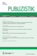 Publizistik 2/2014