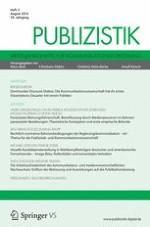 Publizistik 3/2014