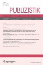 Publizistik 1/2015