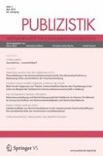 Publizistik 2/2015