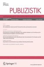 Publizistik 3/2015