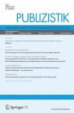Publizistik 1/2016